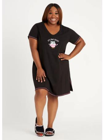 PILLOW TALK - 3/4 Sleeve Nightshirt J187B