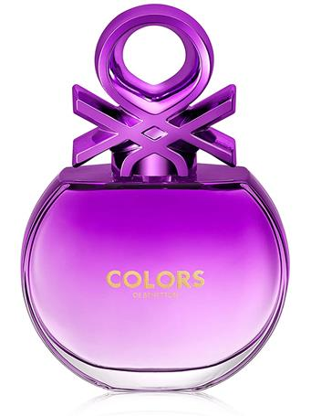 BENETTON - Purple For Her - Eau de Toilette 80ml - $29 Special No-Color