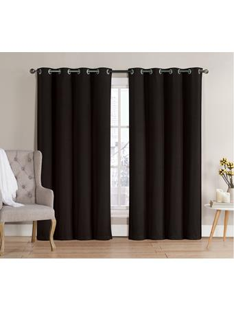 DARK ROOM - Neil Blackout Grommet Panel BLACK
