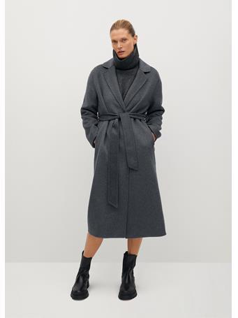 MANGO - Batin Coat LT-PASTEL-GREY