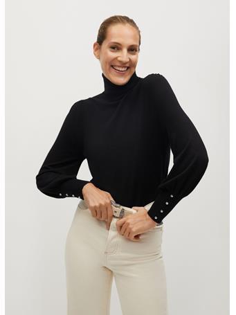 MANGO - Turtle Neck Sweater BLACK