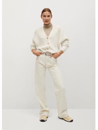 MANGO - Picky Cardigan NATURAL-WHITE