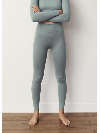 MANGO - Seamless Leggings MEDIUM BLUE