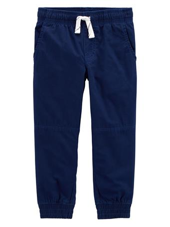 CARTER'S - Everyday Pull On Pants - (12-24M) NAVY