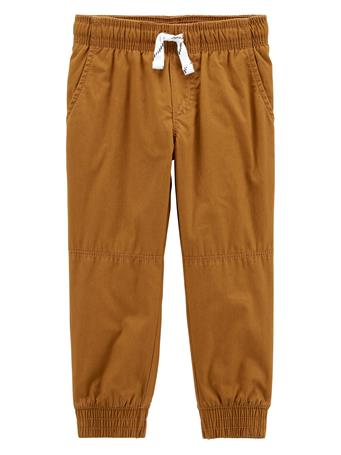 CARTER'S - Everyday Pull On Pants - (12-24M) KHAKI