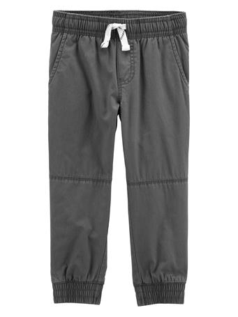 CARTER'S - Everyday Pull On Pants - (12-24M) GREY