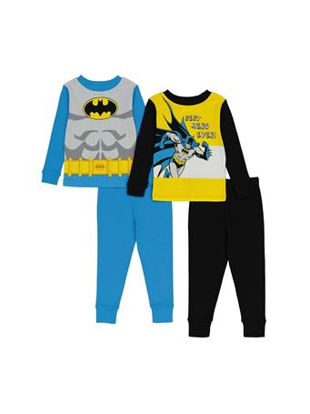 MARVEL - Batman 4 Piece Pajama Set (2T-4T) NOVELTY