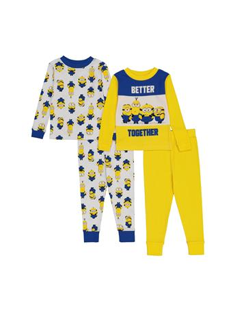 DISNEY - Minions 4 Piece PJ Set (2T-4T) NOVELTY