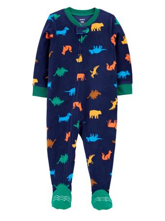 CARTER'S - Dinosaur Fleece Footie Pajamas  NOVELTY