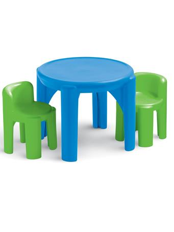 LITTLE TIKES - Table And Chairs Primary No-Color
