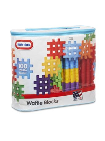 LITTLE TIKES - Waffle Blocks In Bag 100 Pc No-Color
