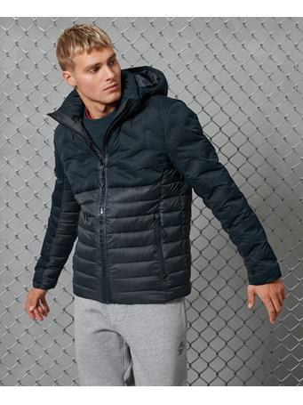 Superdry - Radar Quilt Fuji Jacket NAUTICAL NAVY