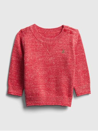 GAP - Baby Crewneck Sweater RED