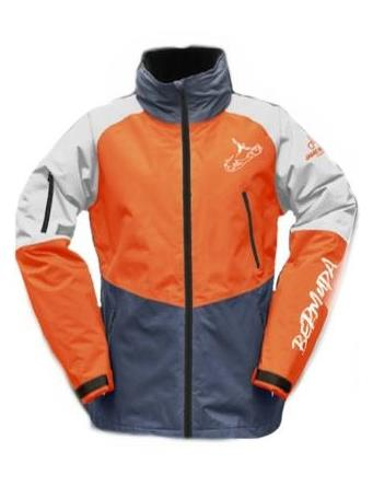 JAMIE MADISON - Kids Vader Jacket ORANGE-MULTI