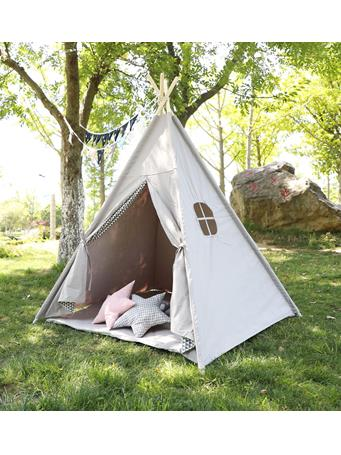 Solid Teepee With Mat NO-COLOR