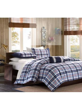 MI-ZONE - Elliot Comforter Set NAVY