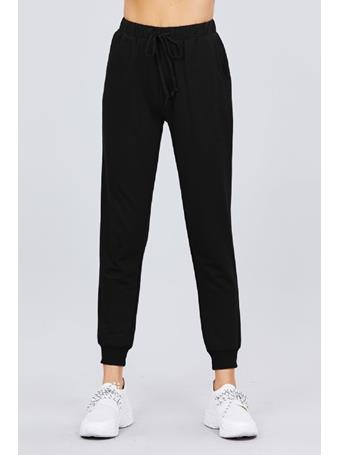 ACTIVE BASIC - French Terry Jogger - Plus Size BLACK