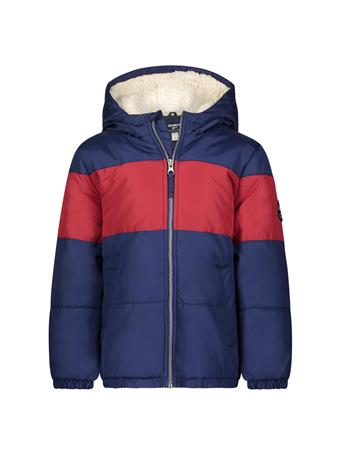 OSHKOSH - Colorblock Puffer Jacket (4-7) NAVY