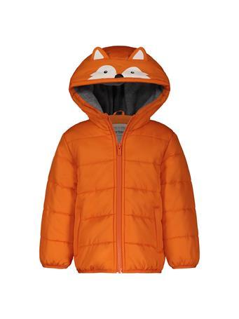 CARTER'S - Fox Puffer Jacket ORANGE