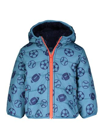 CARTER'S - Sports Puffer Jacket BLUE