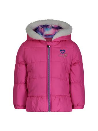 LONDON FOG  Bubble Jacket (2T-4T) PINK