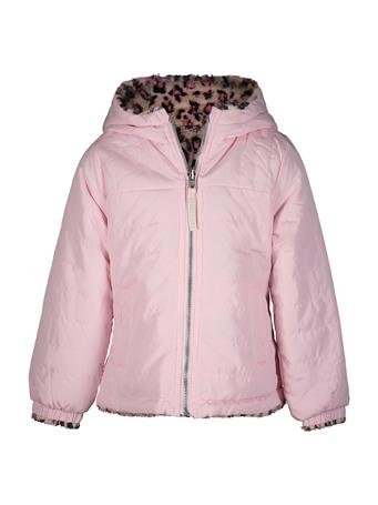 LONDON FOG - Reversible Midweight Jacket PINK