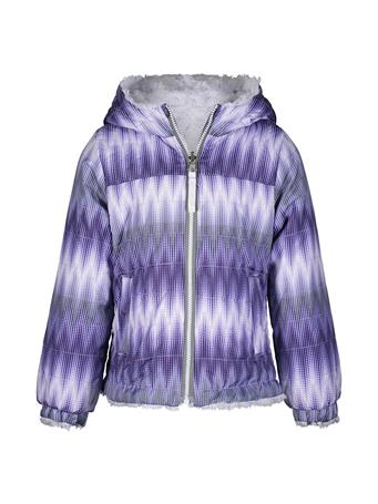LONDON FOG - Reversible Midweight Jacket PURPLE