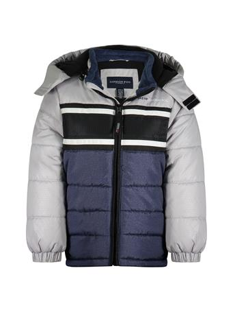 LONDON FOG - Bubble Jacket (8-16) NAVY