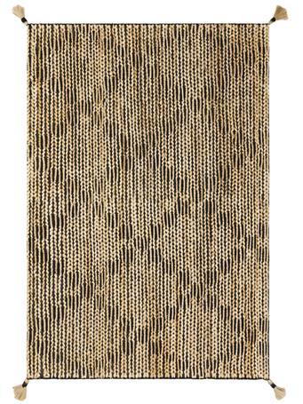 JUSTINA BLAKENEY - Playa Jute & Cotton Rug Collection BLACKNAT