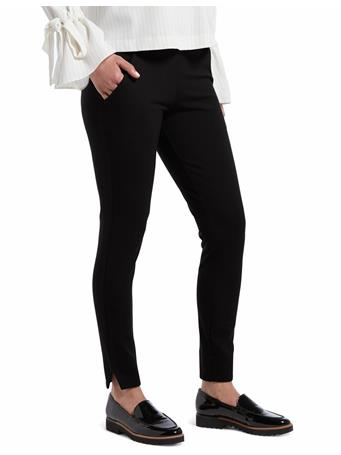 HUE - 7/8 Ponte Legging 79001 BLACK