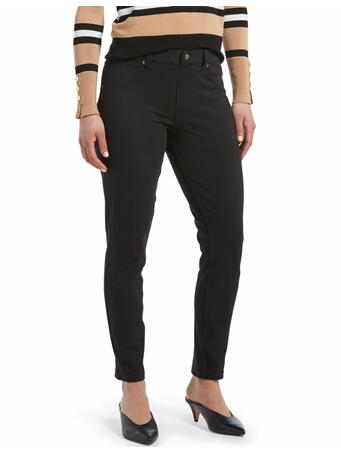 HUE - Curvy Denim Legging 79001 BLACK