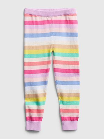GAP - Toddler Happy Stripe Sweater Leggings STRIPE