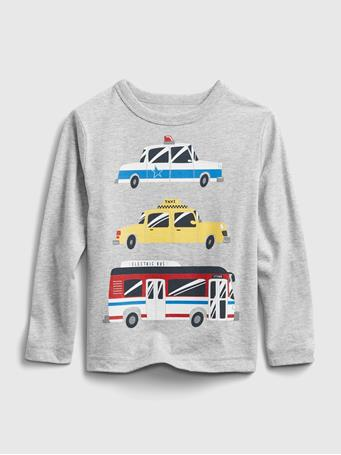 GAP - Toddler Mix and Match Graphic T-Shirt LT HEATHER GREY