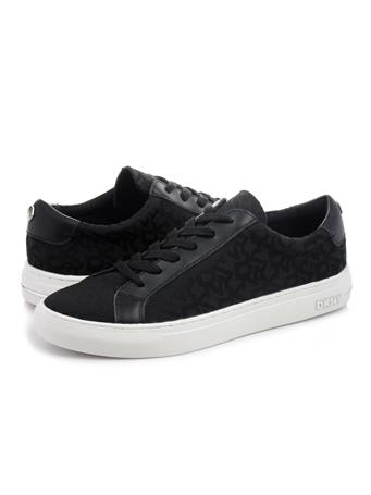 DKNY - Court Lace Up Sneaker BLACK