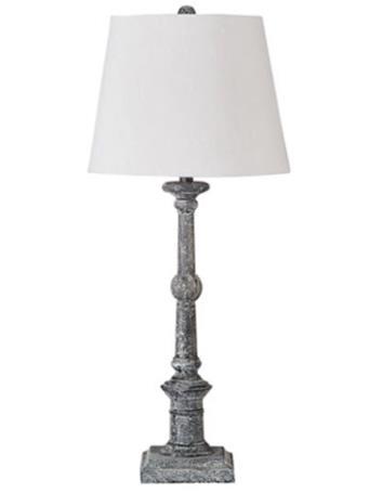 ASHLEY FURNITURE - Zimba Table Lamp GREY