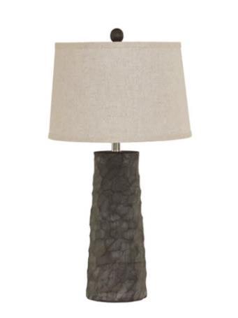 ASHLEY FURNITURE - Sinda Table Lamp BROWN
