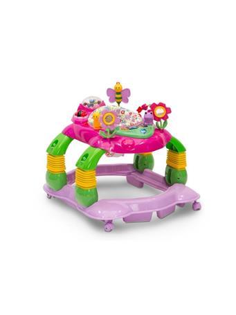 DELTA - Lil' Play Station 4-in-1 Activity Walker - Floral  No Color