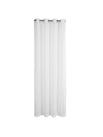 RENAISSANCE HOME - Montauk Sheer Grommet Panel WHITE