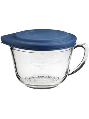ANCHOR HOCKING - 2 Quart Glass Batter Bowl With Lid No Color