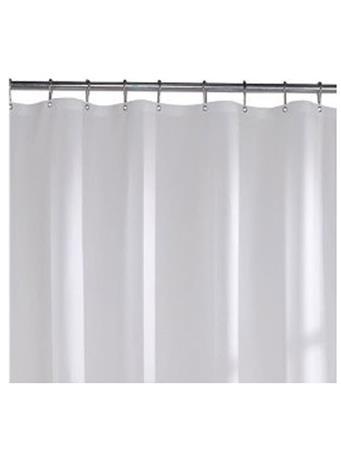 CARNATION HOME FASHION - 3 Gauge Vinyl Shower Liner 10-FROSTY CLEAR