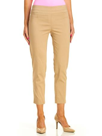 ZAC & RACHEL - Millennium Slim Cut Ankle Pants CHINO