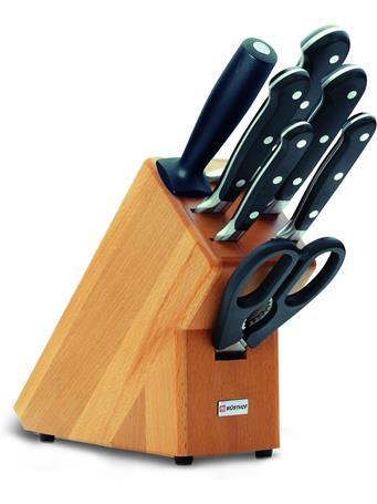 WUSTHOF - Classic Knife Block 7 Piece (Beechwood) No-Color
