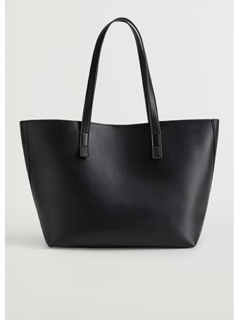 MANGO - Shopper Bag BLACK