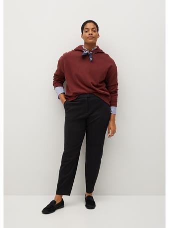 Violeta by MANGO - Suit Slim-fit Pants BLACK