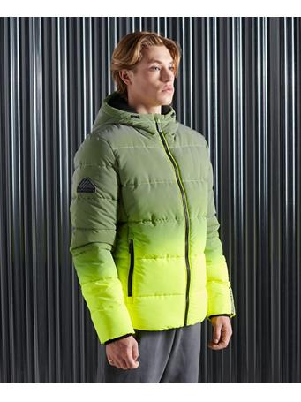 Superdry - Ombre Sports Puffer Jacket FLURO-OMBRE-RFECTIVE