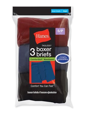 HANES - Boxer Brief Colors  No Color