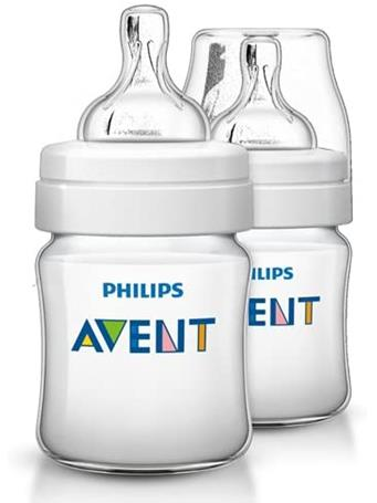 AVENT - Bottle 4 OZ 2 Pack No Color