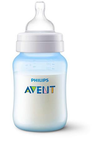 AVENT - 9 OZ BPA Free Blue Bottle No Color