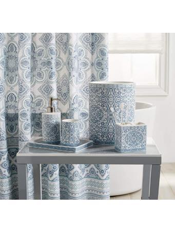 PERI HOME - Capris Bath Accessory Collection BLUE