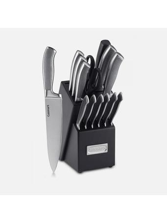 CUISINART -  Graphix 15 Piece -Stainless Steel Cutlery Block Set No Color